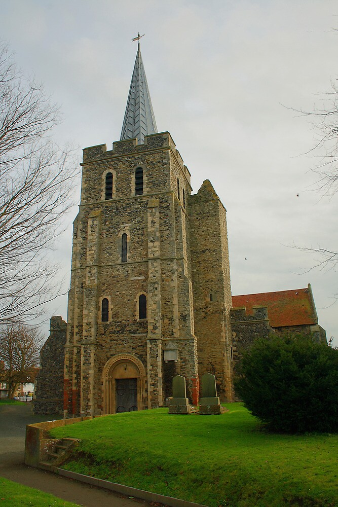 St Mary The Virgin, Minster In Thanet by Dave Godden