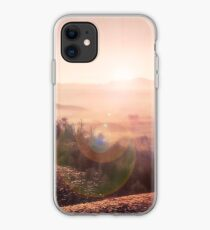 Outback Sunrise (full widescreen panorama) iPhone Case