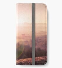 Outback Sunrise (full widescreen panorama) iPhone Wallet/Case/Skin