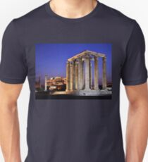 The Temple of Olympian Zeus & the Acropolis T-Shirt