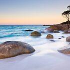 Binalong Bay Tasmania by ianwoolcock