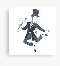 Fred Astaire Bailando Lámina metálica