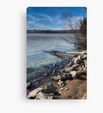 Diamond Lake - Montezuma, IA Leinwanddruck