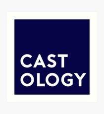 Castology Badge Art Print