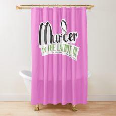 MITLOO Badge Shower Curtain