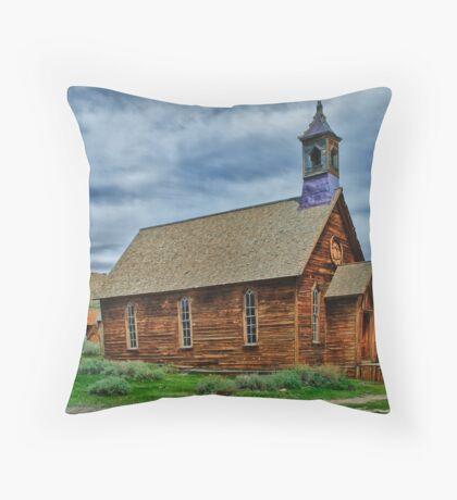The Little Church Throw Pillow