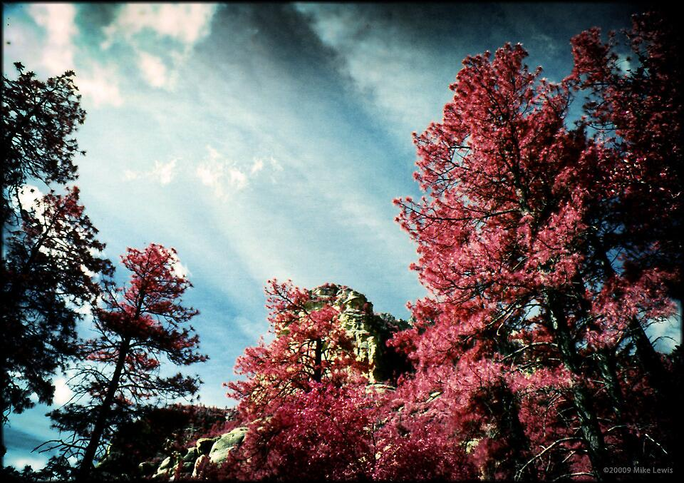 Sedona Sky by Mike Lewis