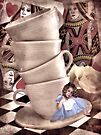 Alice At The Tea Party by Shelly Harris