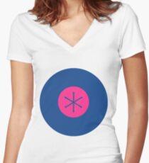 Community Greendale logo Women's Fitted V-Neck T-Shirt