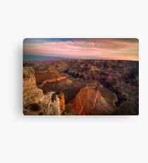 Grand Canyon - Sunrise at Mather Point Canvas Print