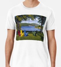 """Palisades"" oil painting by Reed Prescott Premium T-Shirt"