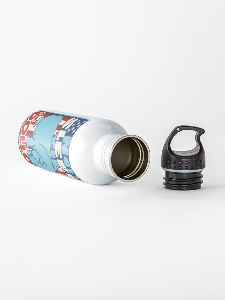 Alternate view of DOLLOP: No Sleep Til Hippo (simple) Water Bottle