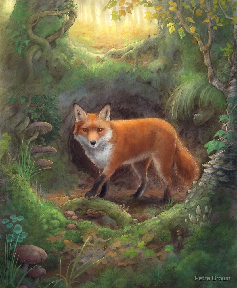 The Fox Den by Petra Brown
