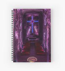 Salt Mine Cathedral Spiral Notebook
