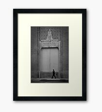 Greenwich Substation New York City Framed Print