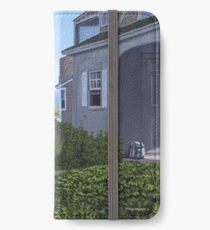 """""""Cape Cod Cottage"""" by Reed Prescott iPhone Wallet/Case/Skin"""