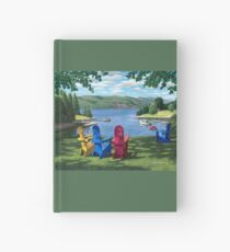 """Harbor View"" by Reed Prescott Hardcover Journal"