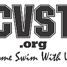 Come Swim With Us Black Logo by CVSTswimming