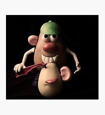 mr potato head,,,,, Photographic Print
