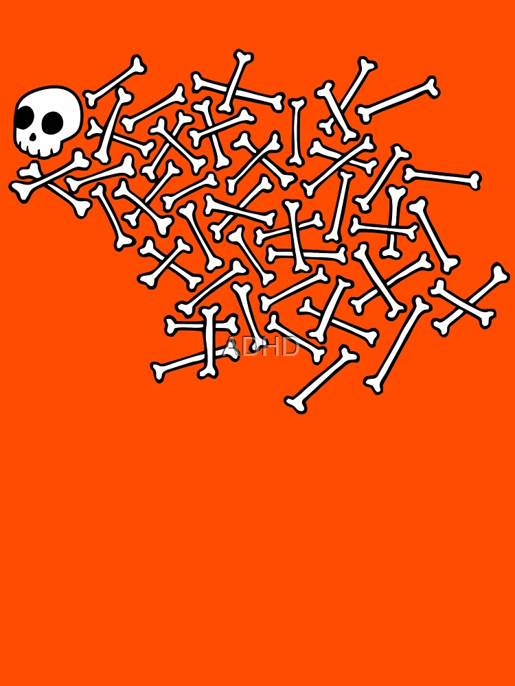 Skull and bones by ADHD