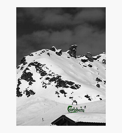 If Carlsberg Made Ski Resorts... Photographic Print