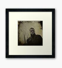 { rue } Framed Print