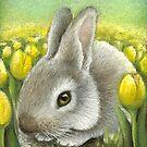Spring Bunny by tanyabond