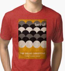 Beirut-Weltausflug-Plakat Vintage T-Shirt