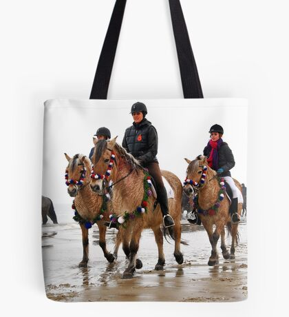 Wet on the beach..... Tote Bag