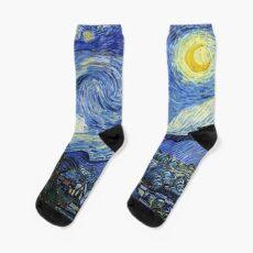 Starry Night, Van Gogh Socks