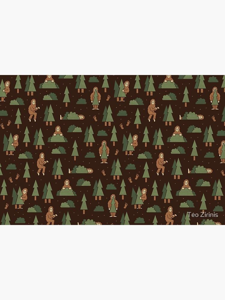 Bigfoot Forest by theodorezirinis
