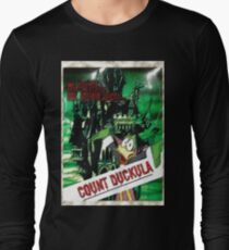 Duckula the B Movie Long Sleeve T-Shirt