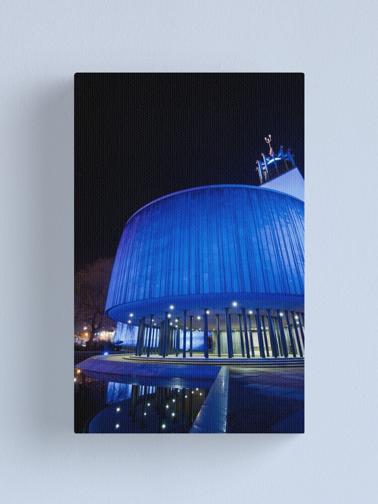 Alternate view of Newcastle Civic Centre Canvas Print