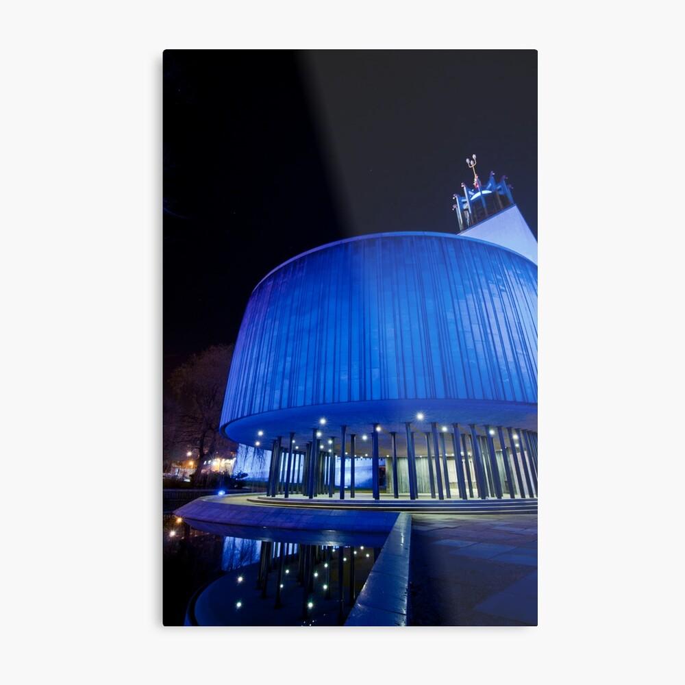 Newcastle Civic Centre Metal Print