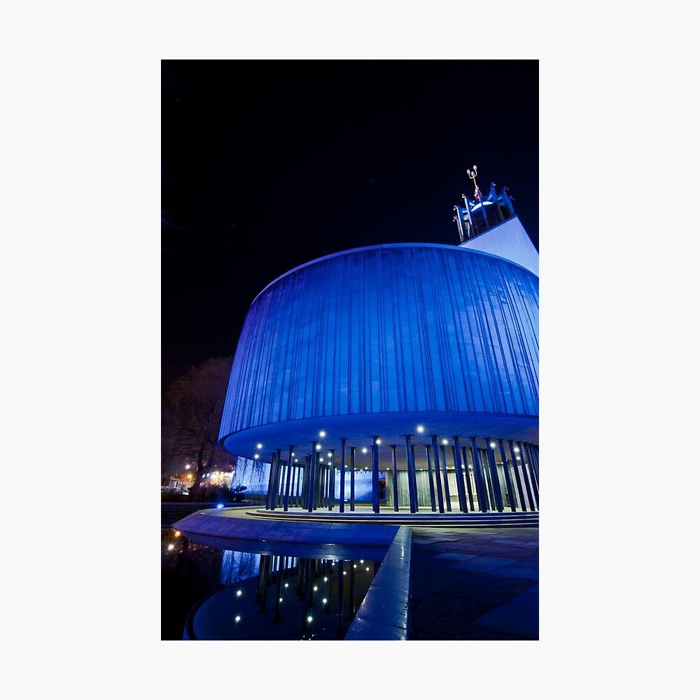 Newcastle Civic Centre Photographic Print