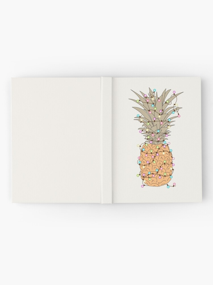 Alternate view of Tropical Lights Hardcover Journal