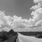 Country road west by Larry  Grayam