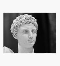 Greek god Photographic Print
