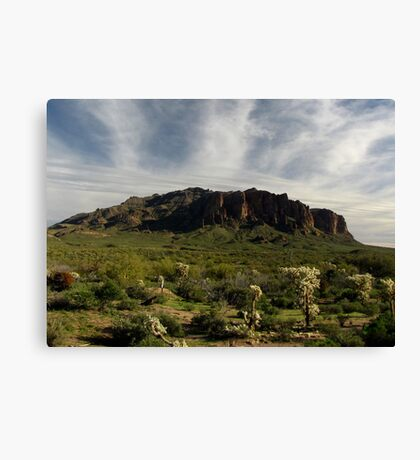 Superstition Mountain ~ Apache Trail, Arizona Canvas Print