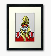 Omega Red  Framed Print