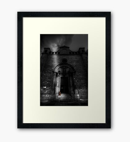 A Meager Existence Framed Print