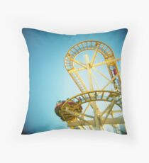 Yellow Fun Throw Pillow