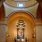 Mission Concepcion Interior by Colleen Drew
