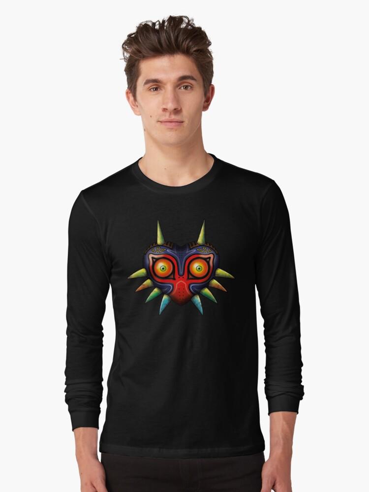 Majora's Mask (Zelda) Long Sleeve T-Shirt Front