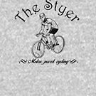 The Styer cyclist by coloriscausa