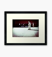 Earnest Entreaty Framed Print
