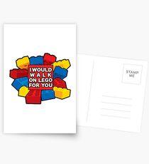 Ich würde auf Lego für dich gehen Postkarten