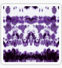 Boho Purple Shibori Sticker