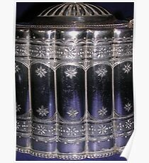 Silver Teapot Detail Poster