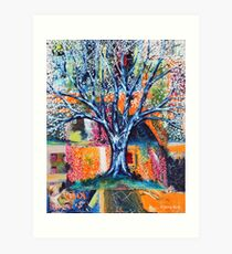 ‎''HERALD TO SPRING (BRADFORD PEAR TREE)'  Art Print